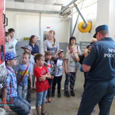 Экскурсия в МЧС и в музей пожарной охраны